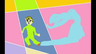 JoJo's Bizarre Adventure OP5 (MS Paint)