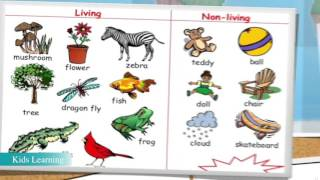 Living and Nonliving Things - Lesson for kids 2016