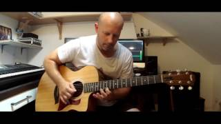 Through the Fire and Flames - Dragonforce (Intro on acoustic Guitar)