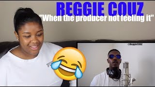 "Reggie Couz: ""When the producer not feeling Holy Tony's direction of the song"" Reaction!"