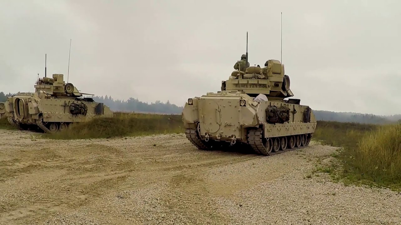 US Army • Cavalry Scouts • Live Fire • Exercise Germany