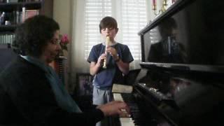 As pombinhas da Catrina - flauta e piano