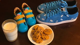 KoF Live: Sesame Street x PUMA Cookie Monster Unboxing