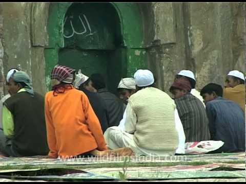 Eid at Firoz Shah Kotla