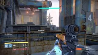 Destiny: pvp skirmish