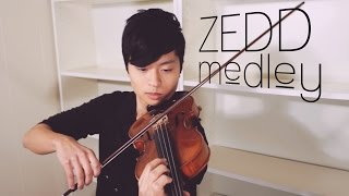 ZEDD MEDLEY - Find You/Spectrum/Clarity/Stay the Night - Violin+Piano+Guitar Cover - Daniel Jang
