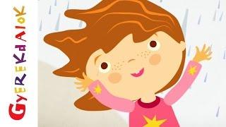 Ess eső, ess (gyerekdal, rajzfilm gyerekeknek)