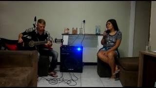 Amor de interior Luan Santa ft Camila quiroz 》cover Robenaldo santos &Annynha Araújo.