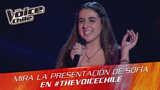 The Voice Chile | Sofía Lagos - Somebody that I used to know
