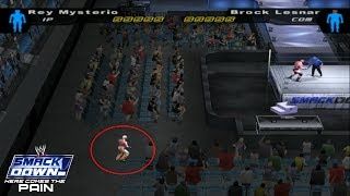 How To Enter In Crowded Area In WWE SD! HCTP 2003