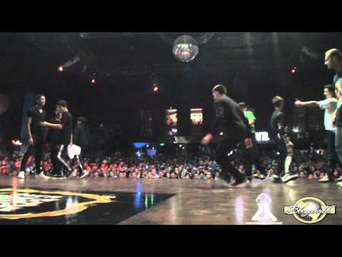 LEGITEAM OBSTRUXION vs RUFFNECK ATTACK | CREW BATTLE | BURN BATTLE SCHOOL 2011