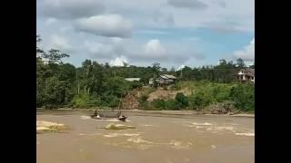 Riam Mangkikit, desa Kalemei Katingan Kalimantan Tengah
