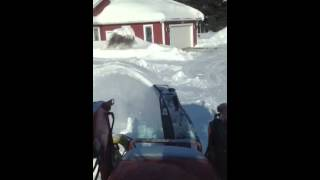 2011 Kubota Tractor M-7040 Blowing Snow (FOR SALE) - CHIPMAN, NEW BRUNSWICK, Canada