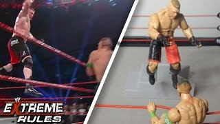 WWE Extreme Rules 2012 John Cena vs Brock Lesnar