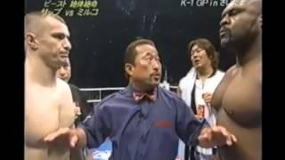 BOB SAPP VS. MIRKO CRO COP   Dream Elite Throwdown Of The Week
