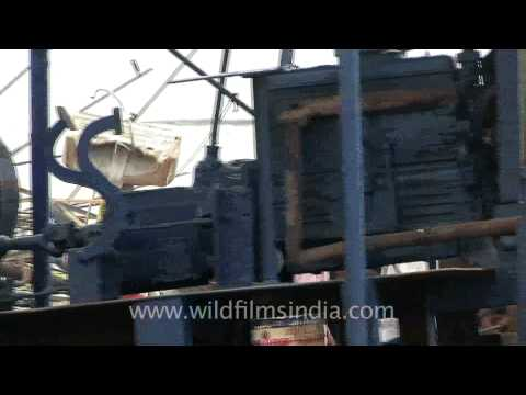 Dismantling ships: Alang