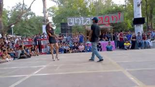 Hot Girl Dancing In Collage Campus || IIT Kanpur