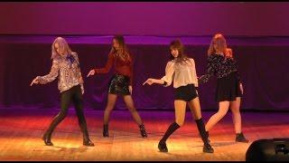 170304 BLACKPINK (블랙핑크) — Playing With Fire (불장난) dance cover by Luminance @ Shibuya22