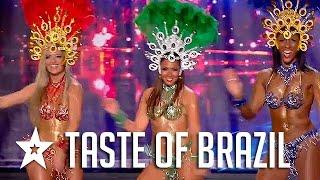 Sexy Samba Dancers Audition On France's Got Talent! Got Talent Global