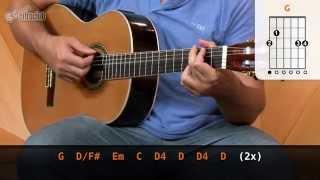 Videoaula Chão de Giz - Zé Ramalho (aula de violão completa)