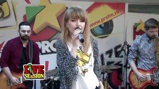 Alexandra Ungureanu & The dAdA - Ocean Drive (Duke Dumont Cover) | ProFM LIVE Session