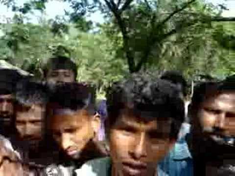 umringt von Bengalesen