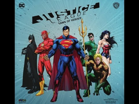 Reseña Justice League: Dawn of Heroes