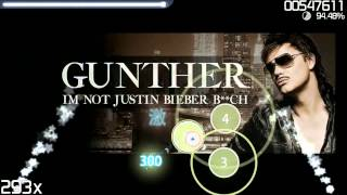 I'm not Justin Bieber B**ch (Osu) HQ/HD QUALITY