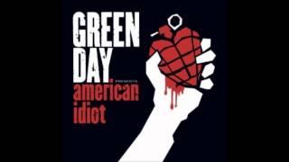 Green Day Shoplifter