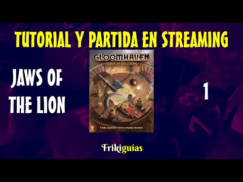 Reseña Gloomhaven: Jaws of the Lion