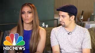 Jennifer Lopez, Lin-Manuel Miranda Discuss Honoring Orlando Victims | NBC News