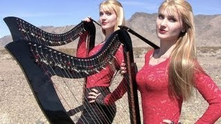 HIGHWAY TO HELL ( AC/DC  ) Harp Twins - Camille and Kennerly HARP ROCK/METAL