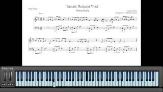 Partituras Jamais Deixarei Você - Bruna Karla (Piano e Teclado)