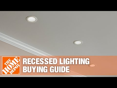 A video outlining features of recessed lighting.