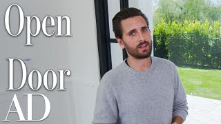 Inside Scott Disick's Home with an Amazing Car Collection | Open Door | Architectural Digest