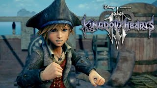 Kingdom Hearts III - Pirates of the Caribbean Trailer | E3 2018