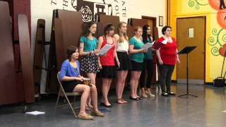 """Daughters of Zion sing """"Come on Down Rain"""" at Relay for Life"""