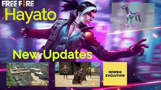 Free Fire New Updates   Observatory - Hayato - Emotes - Mechanical Pup - FFWC Throne - Night Panther