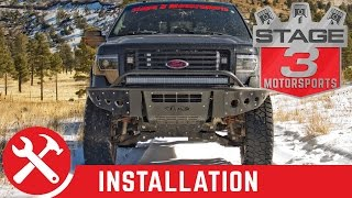 2011-2014 F-150 ADD Stealth Front Bumper Install