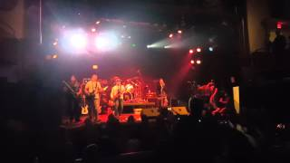 Big Guns ft. Rachel Lorin - Slave To The Grind (SKID ROW cover) LIVE at The Chance Theater 3/19/16