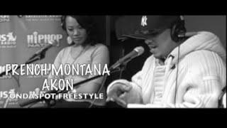 French Montana & Akon OnDaSpot Freestyle - Invasion Radio Classics