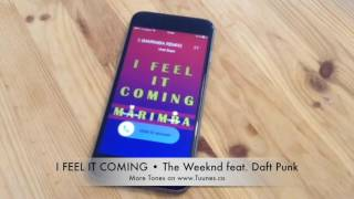 I Feel It Coming Ringtone (The Weeknd feat. Daft Punk Tribute Marimba Remix Ringtone) • Download