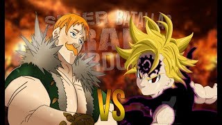 Meliodas vs Escanor. Súper Batallas de Rap Nerdcore | Joan Beats