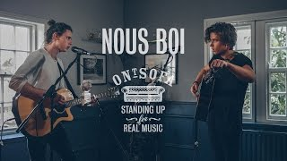 Nous Boi - Take Me Back | Ont' Sofa Live at The Mustard Pot
