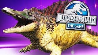 SEJA O AZARÃO PACOTE ANFÍBIOS! - Jurassic World - O Jogo - Ep 201