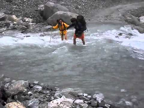 River Crossing – Annapurna region, Nepal