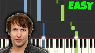 James Blunt - You're Beautiful [Easy Piano Tutorial] (Synthesia/Sheet Music)