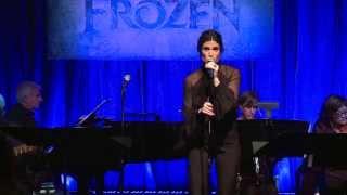 "Frozen: Watch Idina Menzel ""Elsa"" Sing Let It Go Live (Short Clip)"