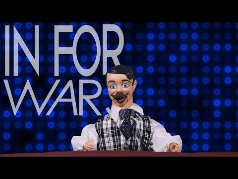 In For Wars: Capitalist Puppet vs. Anarchist Robot