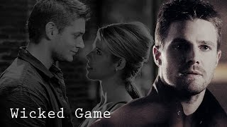 Oliver/Felicity/Dean | Wicked Game (AU)